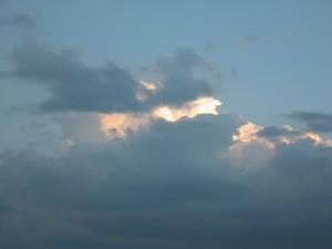 マサイ・マラの空。