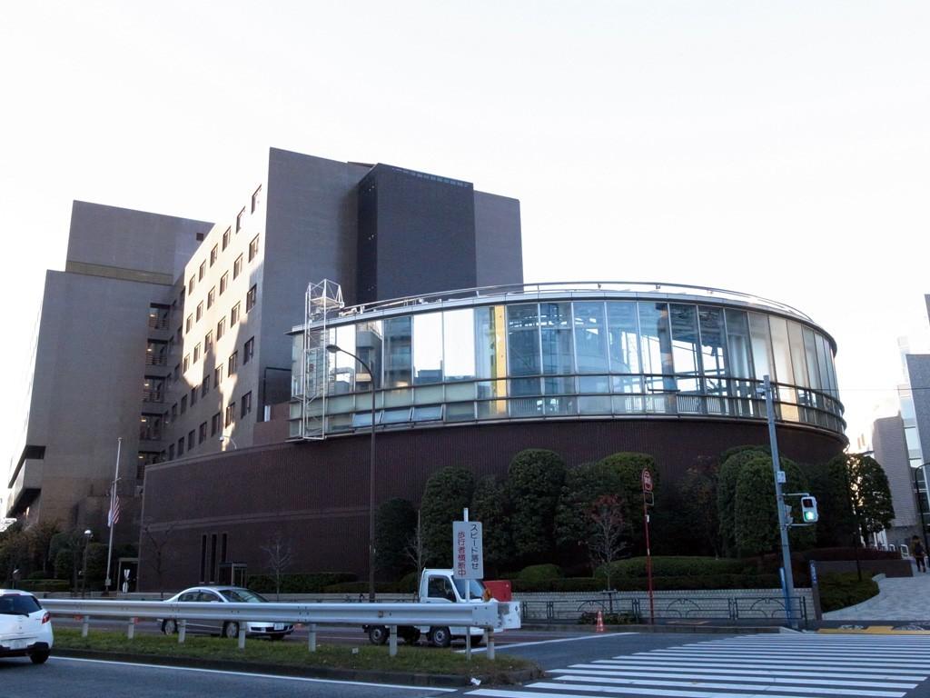 ニューサンノー米軍センター(撮影=bg)