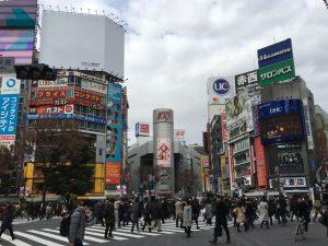 東急田園都市線の起点となる「渋谷駅」周辺では、東急グループが都市再生と銘打って大規模開発を進めている。(撮影=bg)