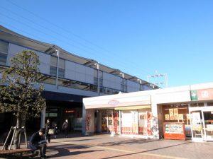 現在の東急田園都市線「江田駅」。すぐ近くに東名高速道路、国道246号線が走る。(撮影=bg)