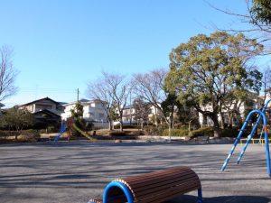 事故現場といわれる公園。(撮影=bg)